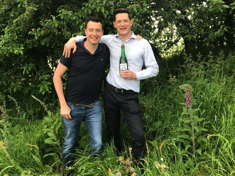 A Picture of Barry Walsh and Dave Watson - Founders of killahora orchards & Cidery Cork Ireland