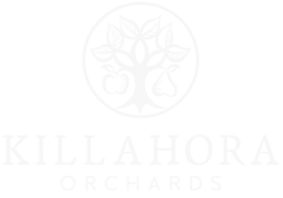 Logo White - killahora orchards & Cidery Cork Ireland