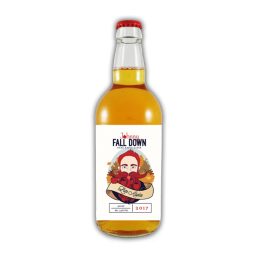 a product shot of Johnny Fall Down Late apples 2017 - killahora orchards & Cidery Cork Ireland