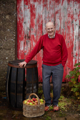 A picture of the late Tim Watson - killahora orchards & Cidery Cork Ireland