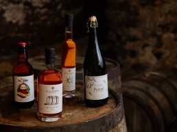 All of our Products, Cider, Pomo, Raper apple ice wine and poire fine perry on a barrel - killahora orchards & Cidery Cork Ireland