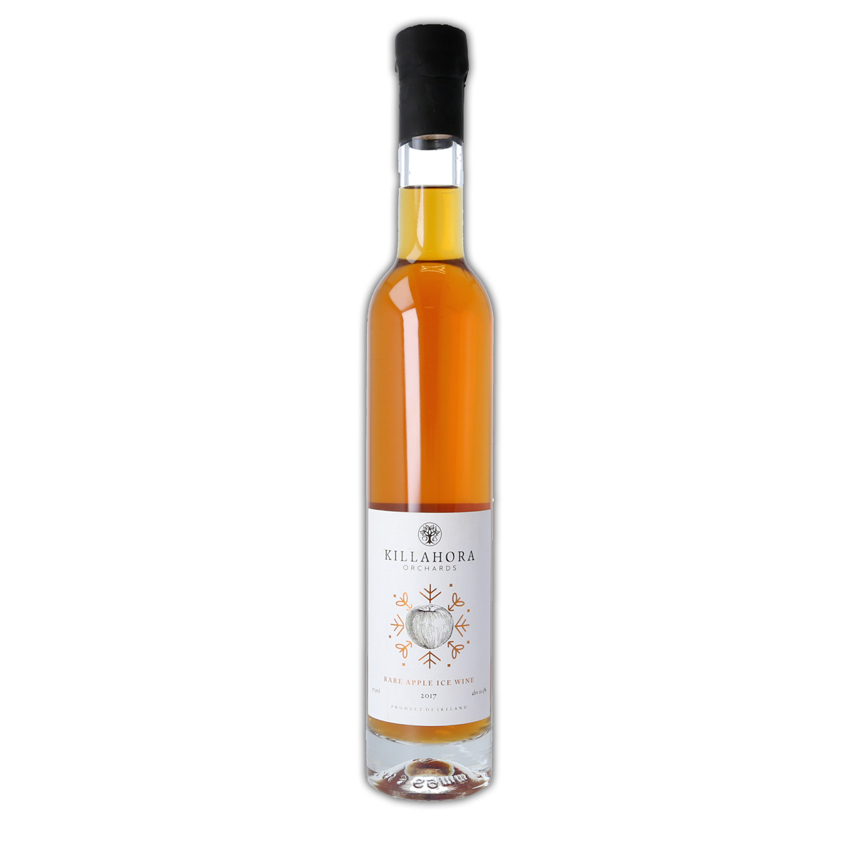 a product shot of Rare Apple ice wine 2017 - killahora orchards & Cidery Cork Ireland