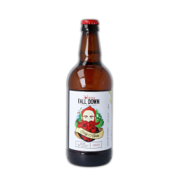 a product shot of Johnny-Fall-Down-Early-Apples-Front - killahora orchards & Cidery Cork Ireland